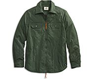 Quilted CPO Jacket, Duck Green, dynamic