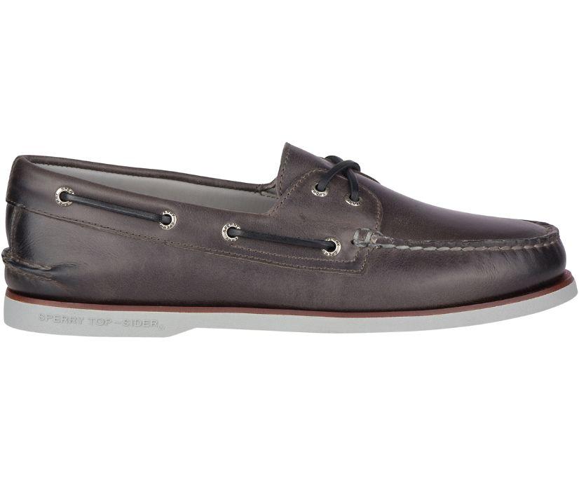 Gold Cup Authentic Original Fairhaven Boat Shoe, Grey, dynamic