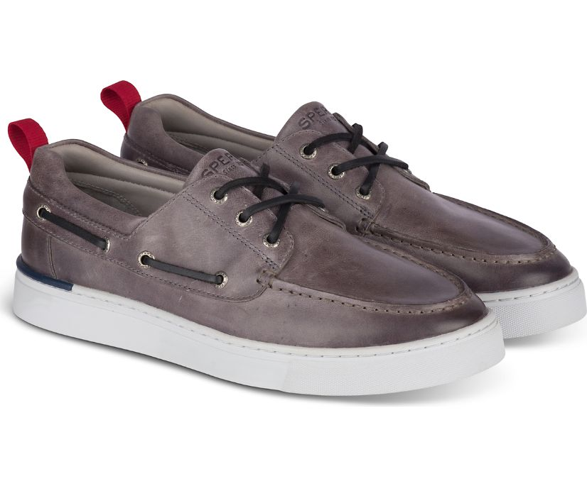 Gold Cup Victura 3-Eye Sneaker, Grey, dynamic