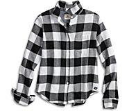 Buffalo Check Flannel Shirt, , dynamic