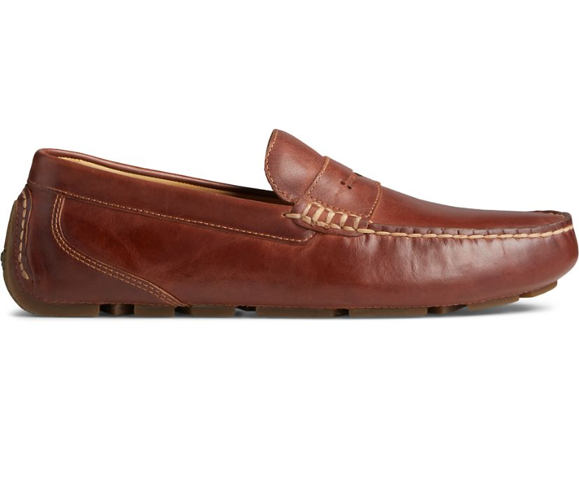 Gold Cup Harpswell Penny Loafer, Leather Tan, dynamic