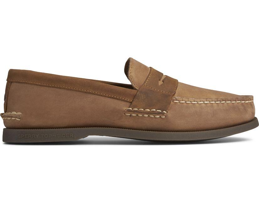 Authentic Original Penny Loafer, Sahara/Sonora, dynamic