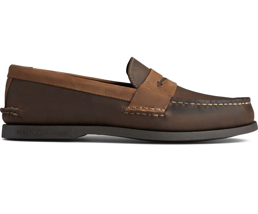 Authentic Original Penny Loafer, Riverboat, dynamic