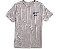 Sperry Shark Graphic T-Shirt, Grey, dynamic