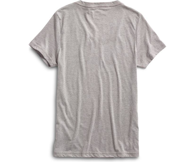 Mermaid Tail Graphic T-Shirt, Grey, dynamic