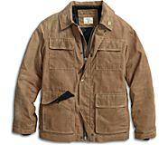 Sperry x Fidelity Waxed Canvas Jacket, Tan, dynamic