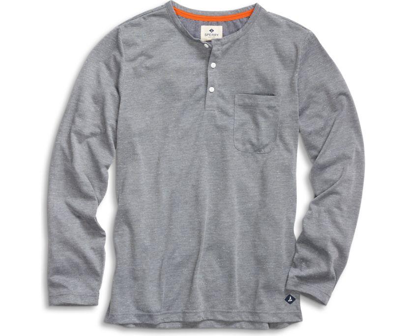 Jersey Henley, Grey, dynamic