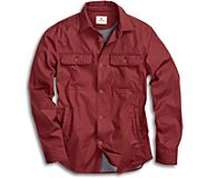 Jersey Lined Shirt Jacket, Andorra, dynamic