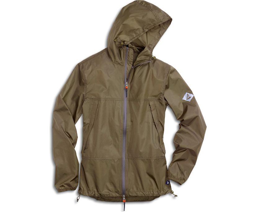 Packable Jacket, Dark Olive, dynamic