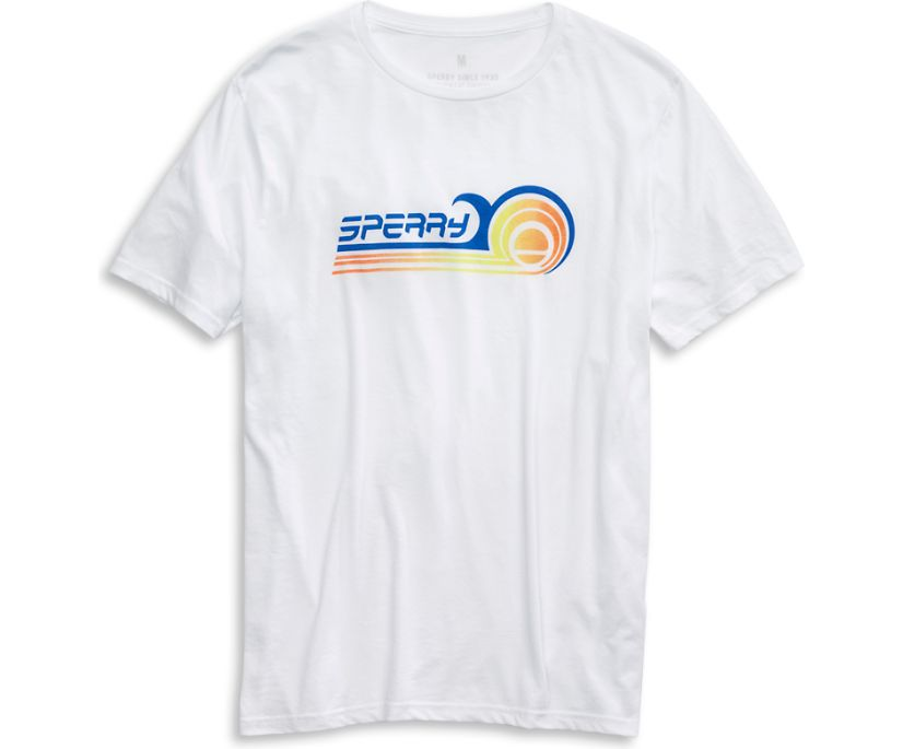 Ollie Wave T-Shirt, White, dynamic