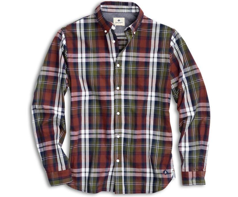 Plaid Button Down Shirt, Andorra, dynamic