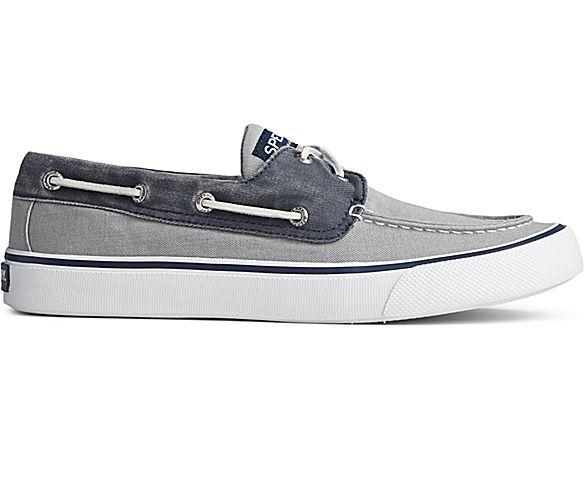 Bahama II Sneaker, Salt Washed Grey/Navy, dynamic