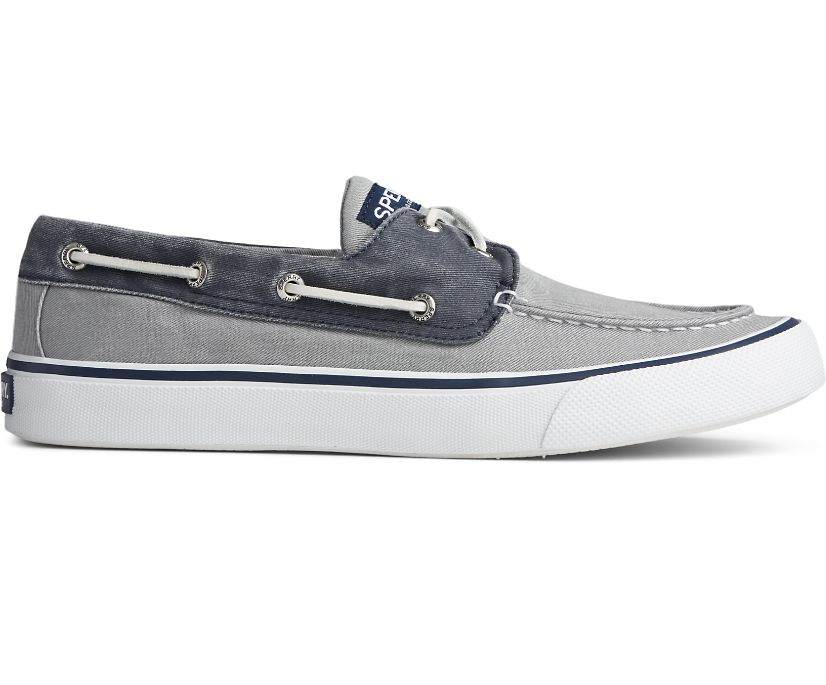 Bahama II Sneaker, Salt Washed Grey/Navy, dynamic