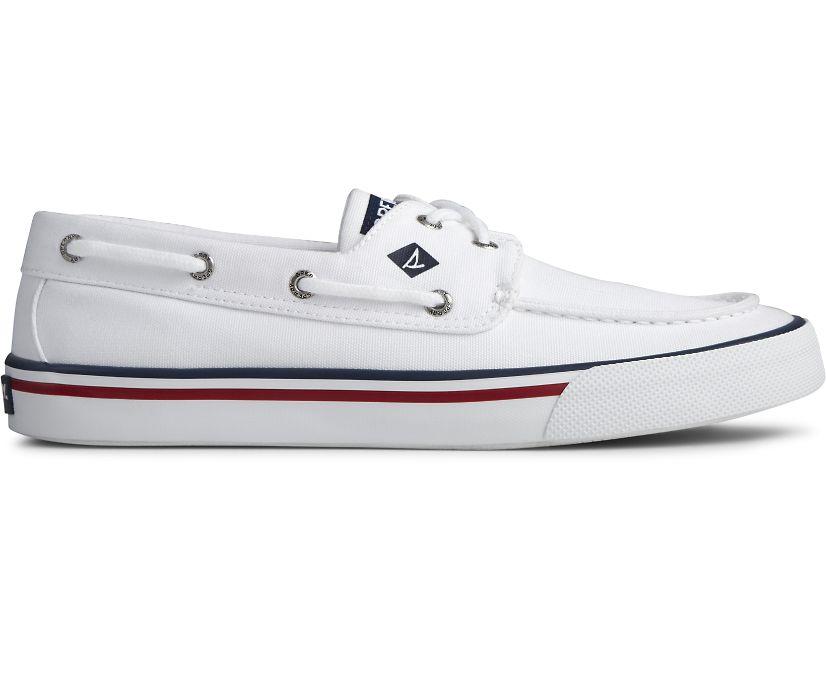 Bahama II Nautical Sneaker, White, dynamic