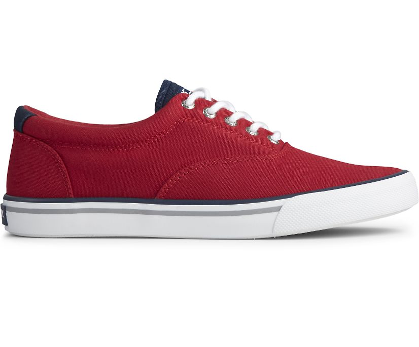 Striper II CVO Nautical Sneaker, Red, dynamic