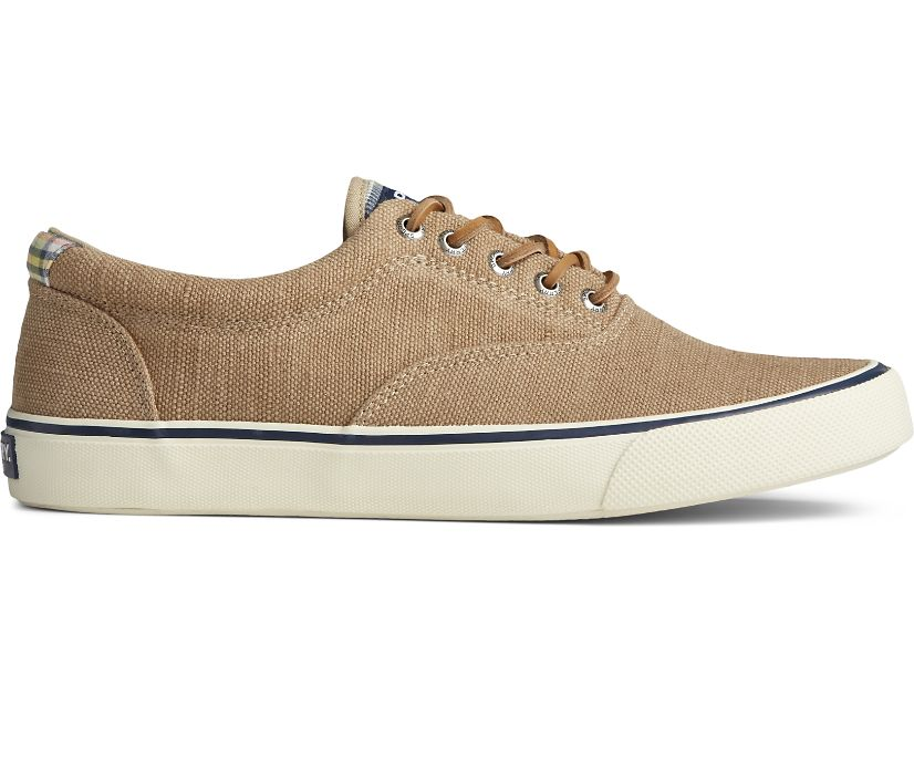 Striper II CVO Distressed Sneaker, Khaki, dynamic