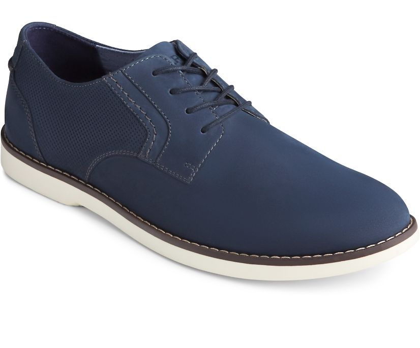 Newman Oxford Nubuck, Navy, dynamic