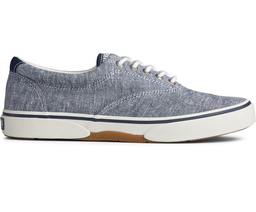 Halyard CVO Chambray Sneaker, Navy, dynamic