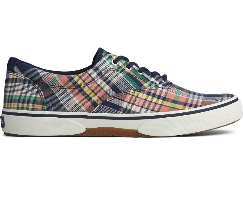 Halyard CVO Canvas Sneaker, Kick Back Plaid, dynamic