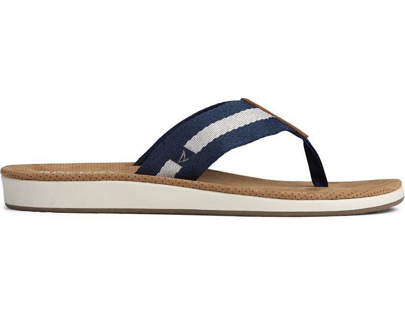 Bayside Flip Flop Webbing, Navy, dynamic