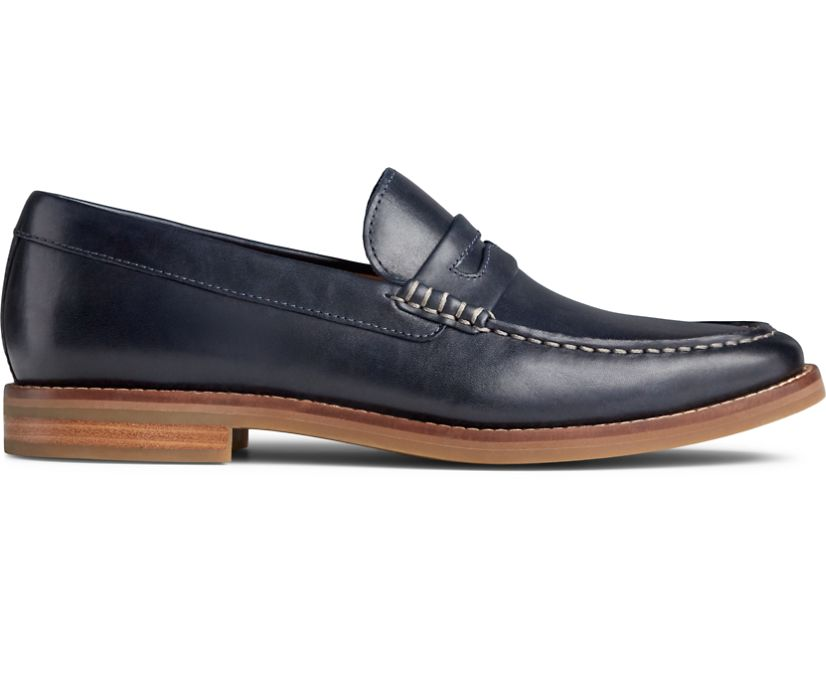 Gold Cup Exeter Penny Loafer, Dress Blues, dynamic