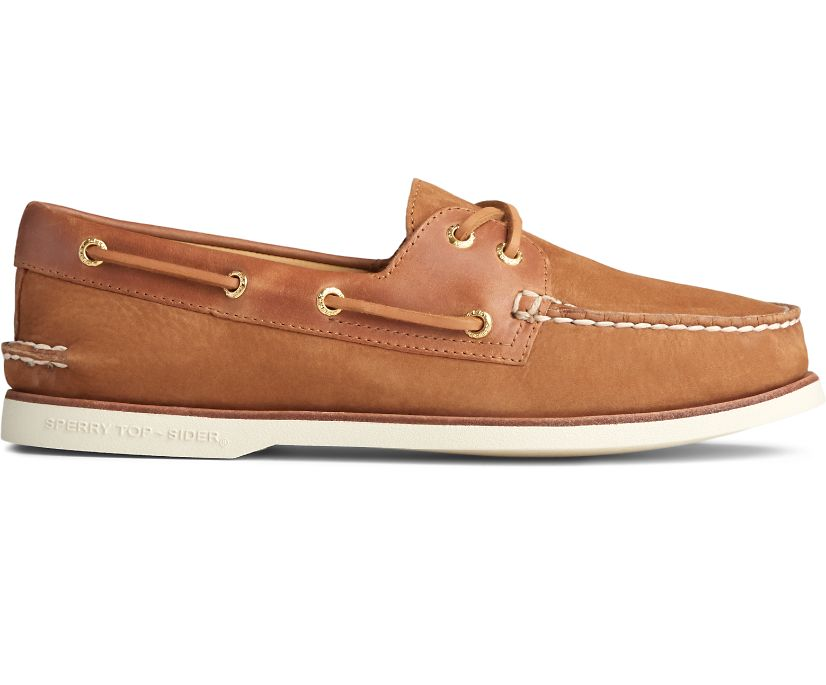 Gold Cup Authentic Original Seaside Boat Shoe, Twig, dynamic