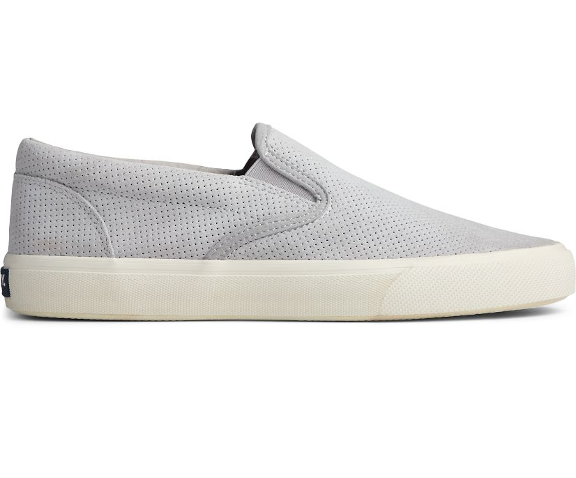Striper PLUSHWAVE Slip On Sneaker, Grey, dynamic