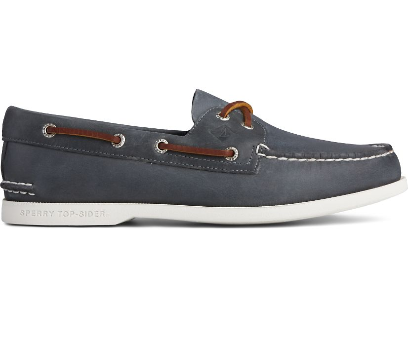 Authentic Original PLUSHWAVE Boat Shoe, Navy, dynamic