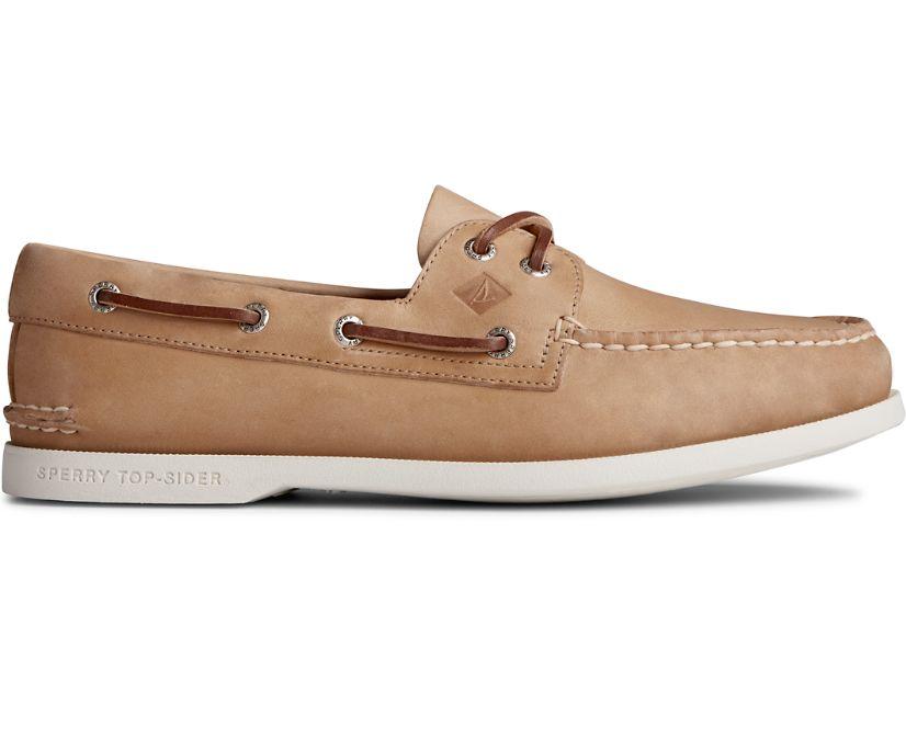Authentic Original PLUSHWAVE Boat Shoe, Oatmeal, dynamic