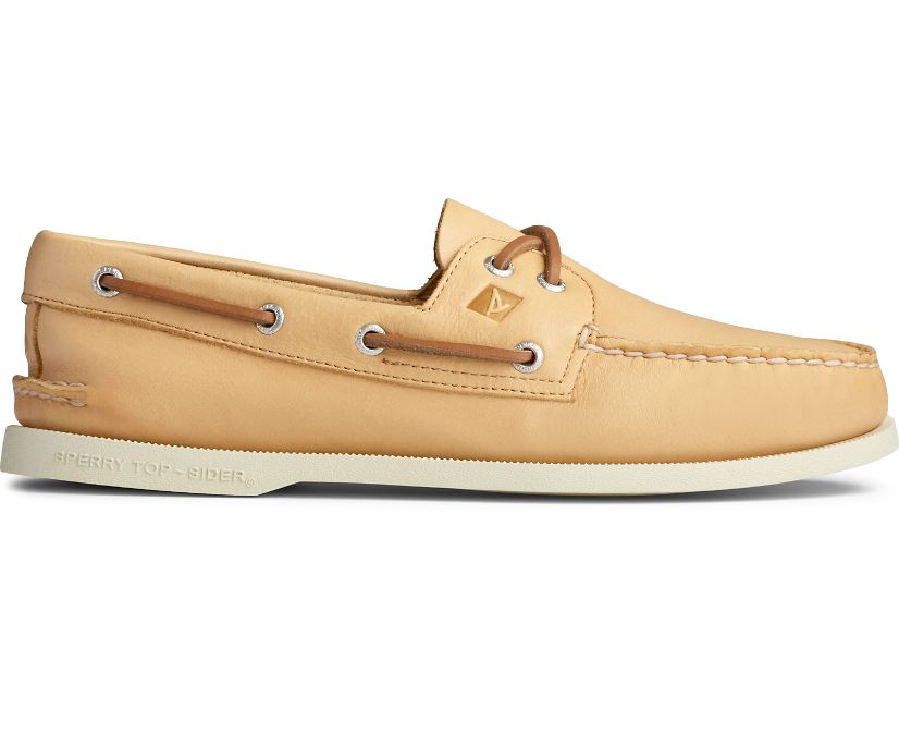 Authentic Original Whisper Boat Shoe, Yellow, dynamic