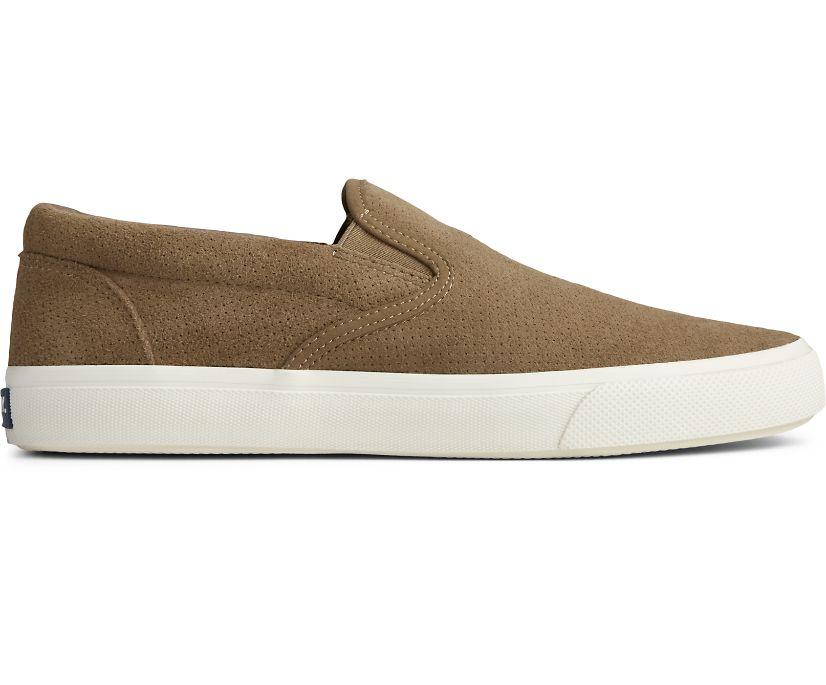 Striper PLUSHWAVE Slip On Sneaker, Taupe, dynamic