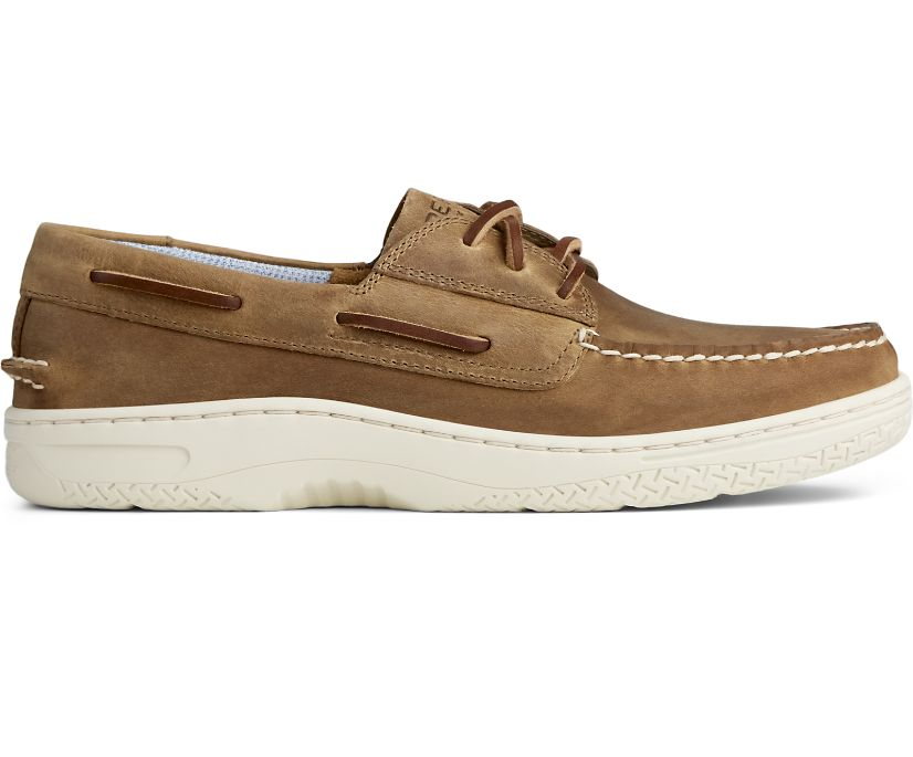 Billfish PLUSHWAVE Boat Shoe, Lt Coffee, dynamic