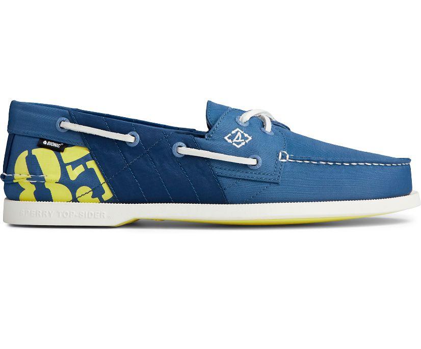 Authentic Original BIONIC® Boat Shoe, Blue, dynamic