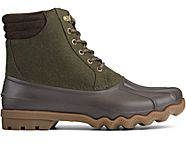 Avenue Wool Duck Boot, Olive/Brown, dynamic