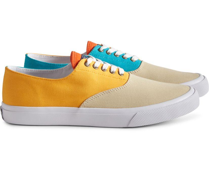 Unisex Cloud CVO Deck Sneaker, Tan Color Block, dynamic