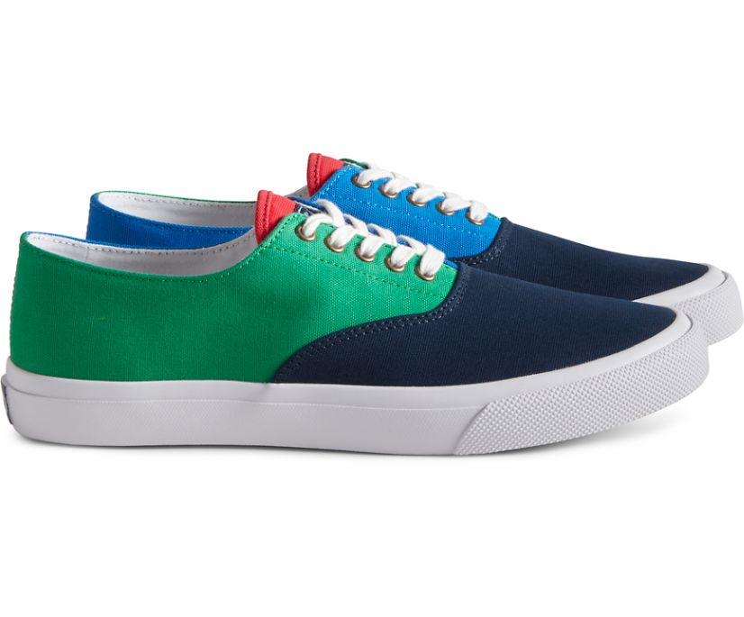 Unisex Cloud CVO Deck Sneaker, Navy Color Block, dynamic