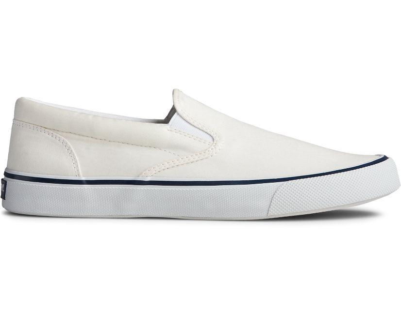 Striper II Slip On Sneaker, White, dynamic