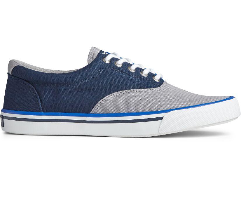 Striper II CVO Nautical Sneaker, Grey Multi, dynamic