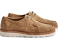Unisex Cloud Suede Captain's Oxford, Tan, dynamic