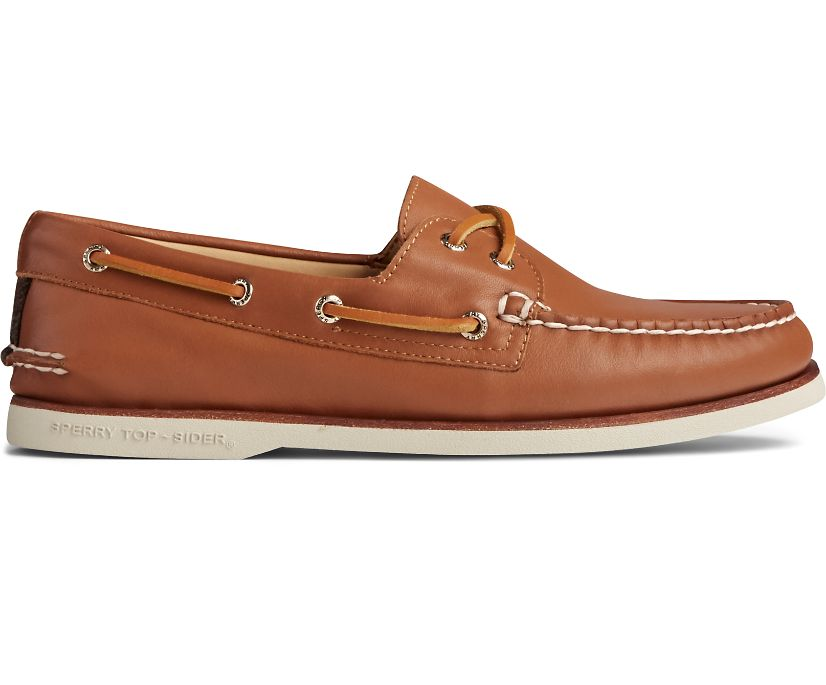 Gold Cup Authentic Original Glove Leather Boat Shoe, Tan, dynamic