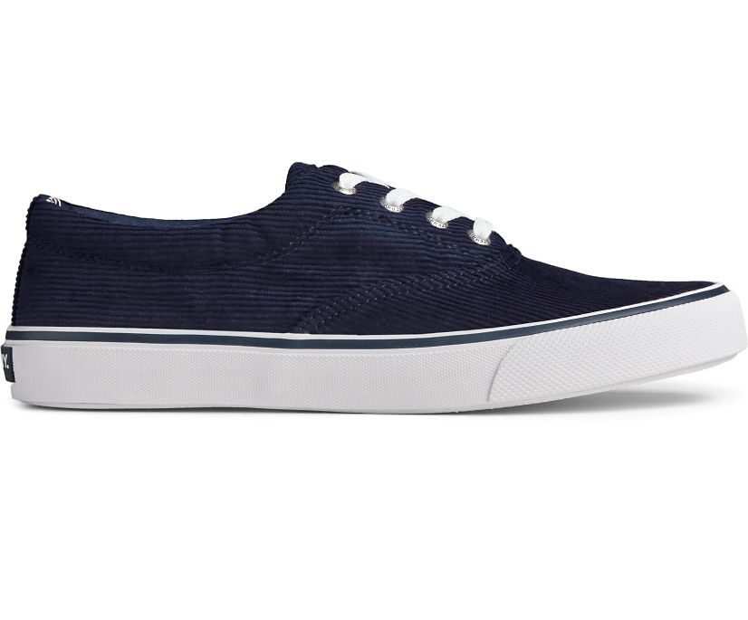 Striper II CVO Corduroy Sneaker, Navy, dynamic