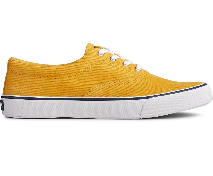 Striper II CVO Corduroy Sneaker, Yellow, dynamic