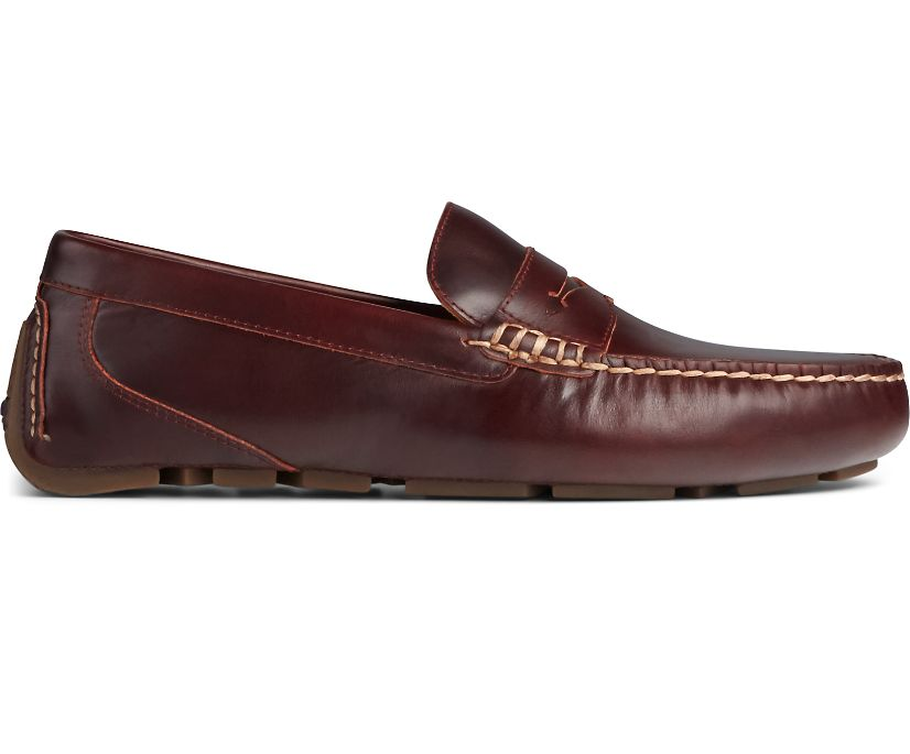 Gold Cup Harpswell Penny Loafer, Amaretto, dynamic