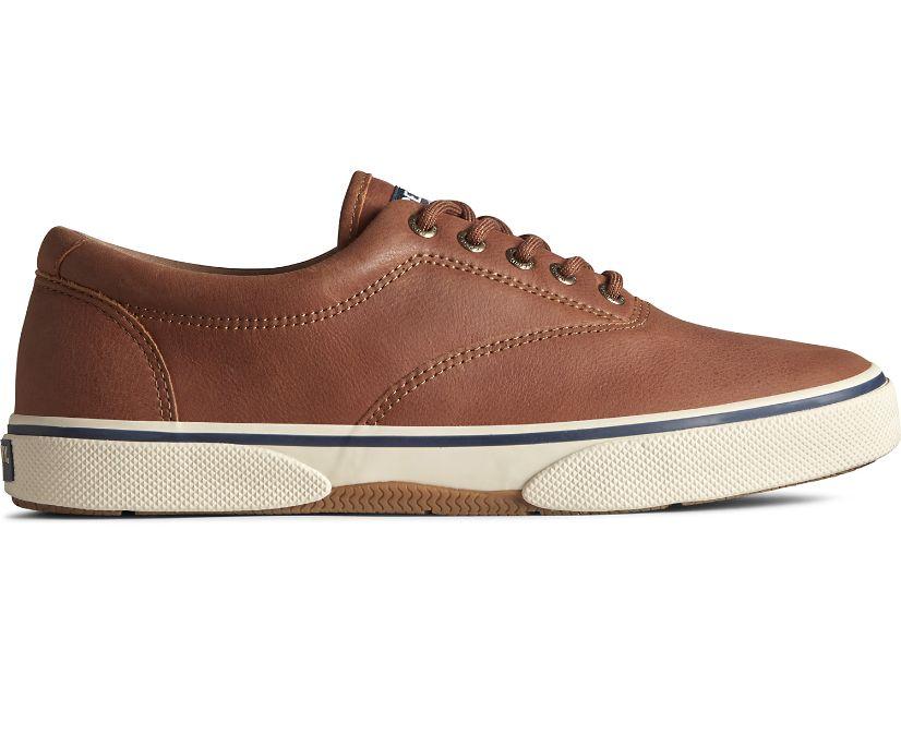 Halyard CVO Leather Sneaker, Tan, dynamic