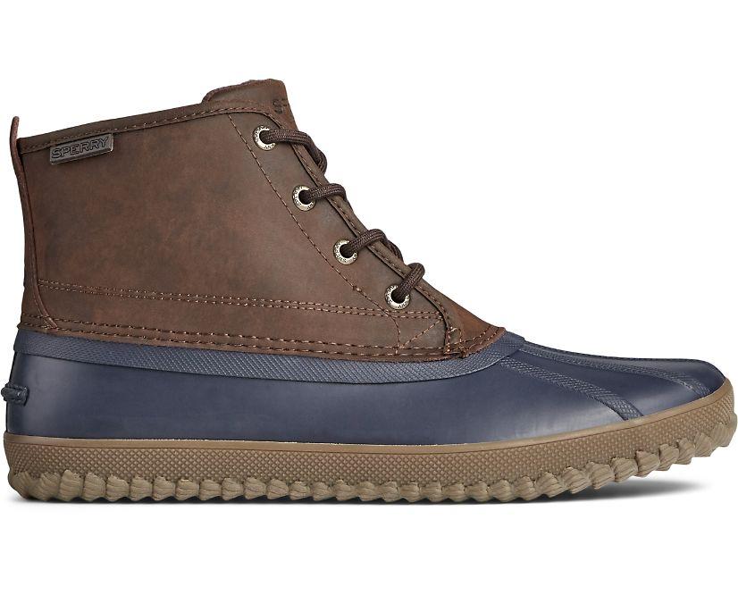 Breakwater Duck Boot, Brown/Navy, dynamic