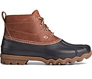 Brewster Low Duck Boot, Brown/Black, dynamic
