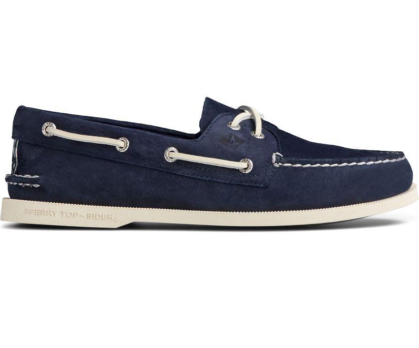 Authentic Original Surf Boat Shoe, Navy, dynamic