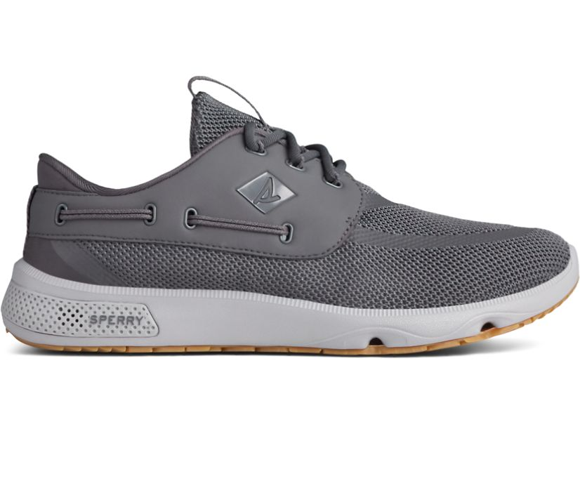 7 Seas 3-Eye Sneaker, Charcoal/Gum, dynamic