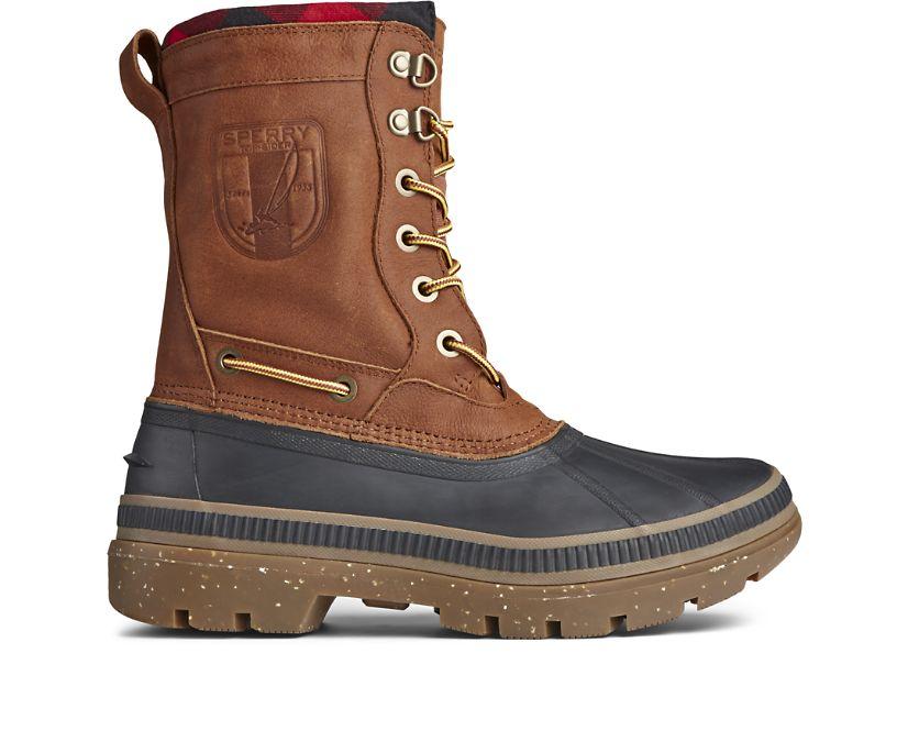 Ice Bay Tall Boot, Black/Tan, dynamic