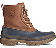 Ice Bay Boot, Navy/Tan, dynamic